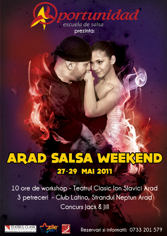 27 – 29 mai 2011 – ARAD SALSA WEEKEND!!!