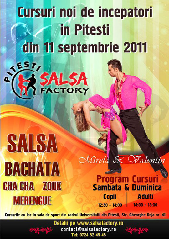 Salsa Factory – un nou pas inainte