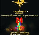 Latin Dance Club Grand Opening